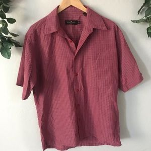 Bugatchi Men's Medium Button Down Shirt